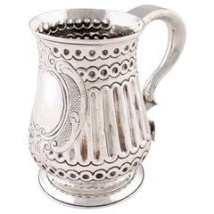 18th Century Sterling Silver Tankard