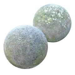 18th Century Stone Balls
