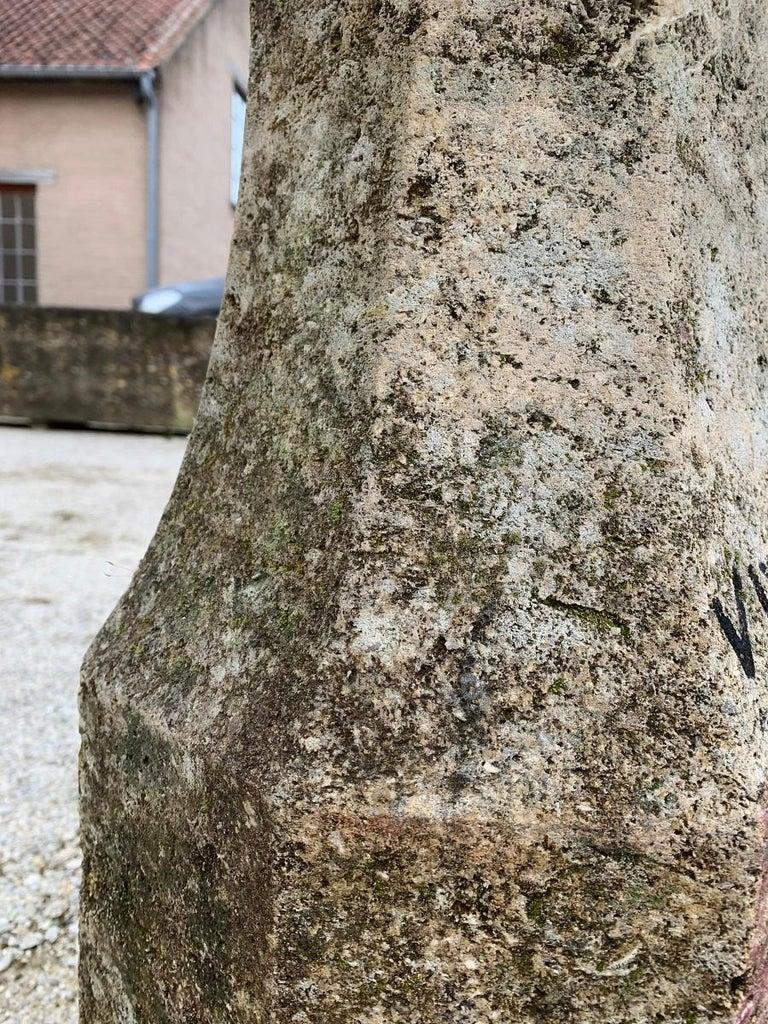 18th Century Stone planter birdbath on colomn For Sale 1