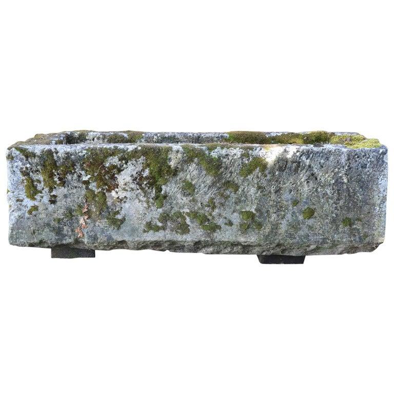 18th Century Stone Trough For Sale