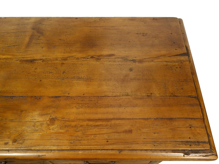 18th Century Style Italian Old Fir 12 Drawer Pharmacy Cabinet, Custom Sizes For Sale 6