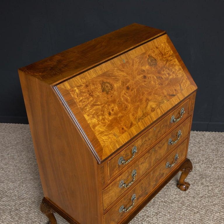 18th Century Style Walnut Bureau For Sale 4