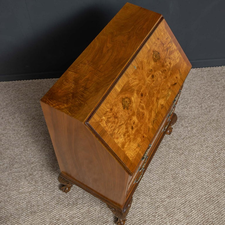 18th Century Style Walnut Bureau For Sale 5