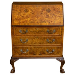 18th Century Style Walnut Bureau