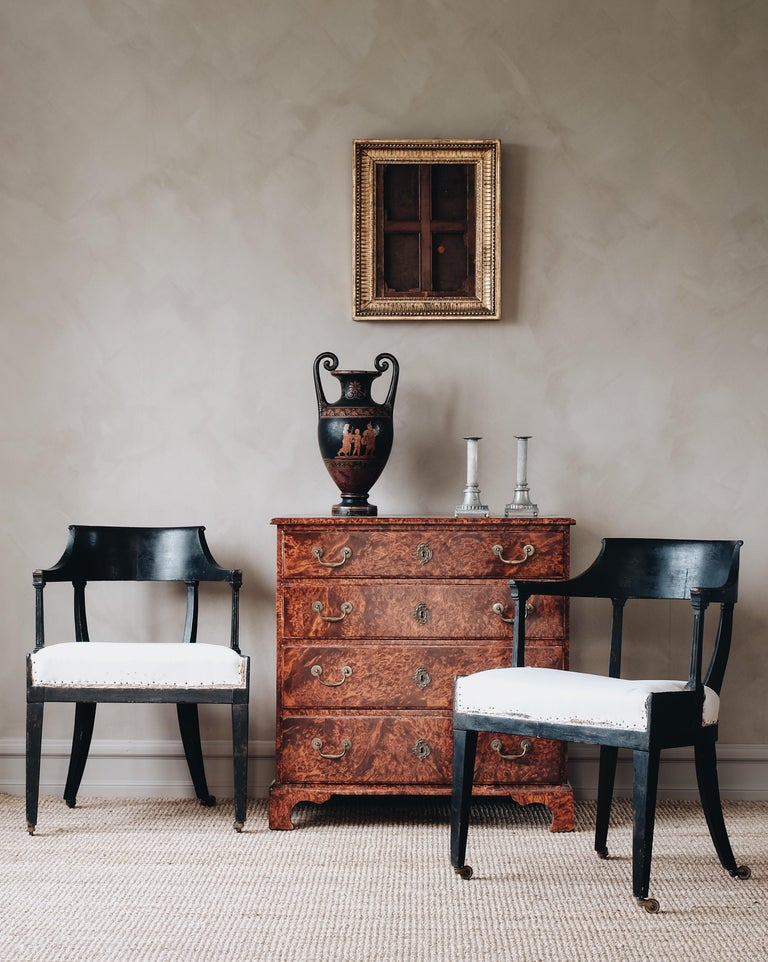 18th Century Swedish Baroque Commode In Good Condition For Sale In Helsingborg, SE