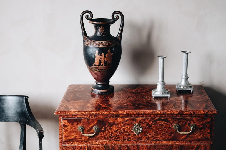 18th Century Swedish Baroque Commode For Sale 2