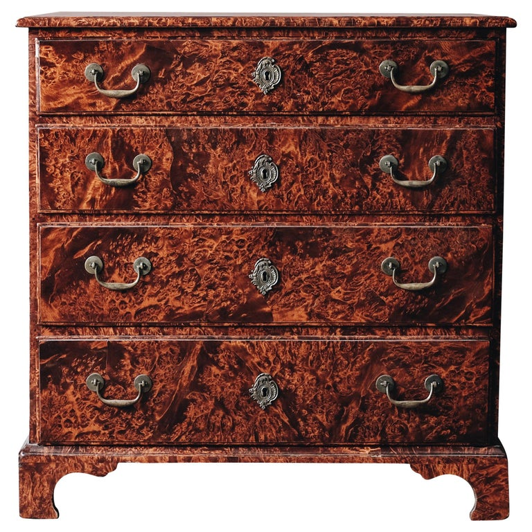 18th Century Swedish Baroque Commode For Sale