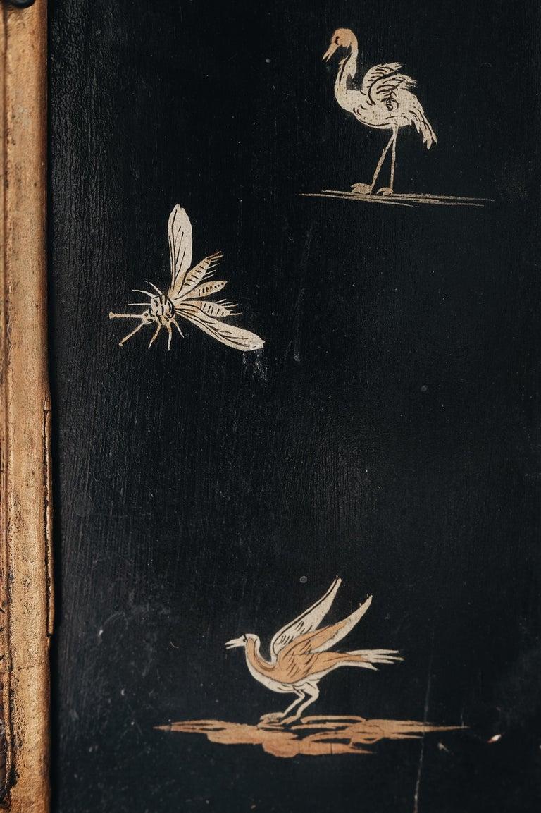 18th Century Swedish Baroque Corner Cabinet For Sale 1