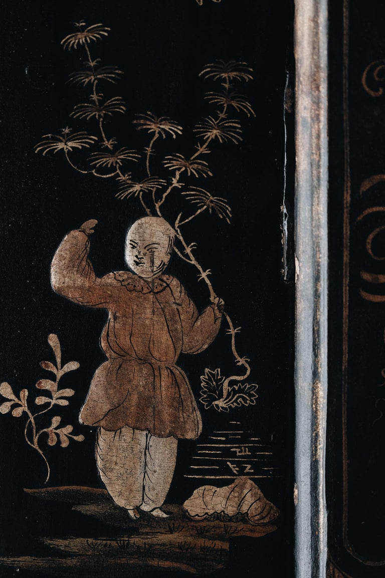18th Century Swedish Baroque Corner Cabinet For Sale 2