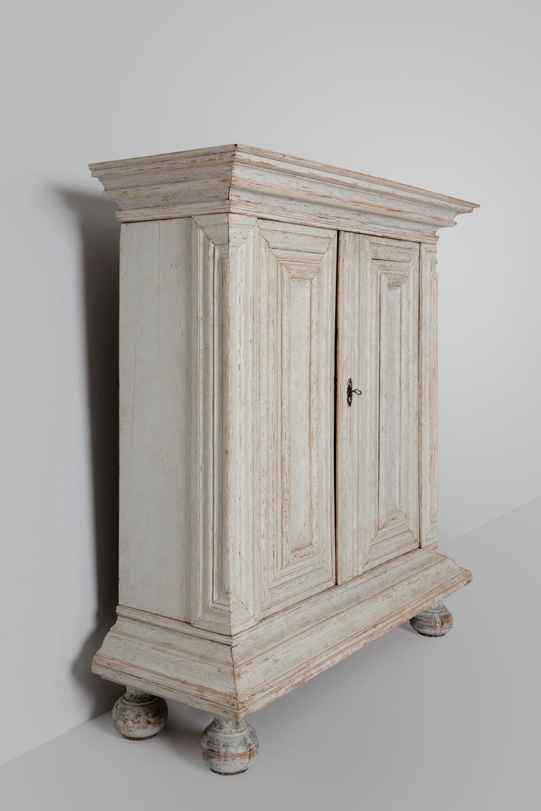 Hand-Crafted 18th Century Baroque Period Cabinet For Sale