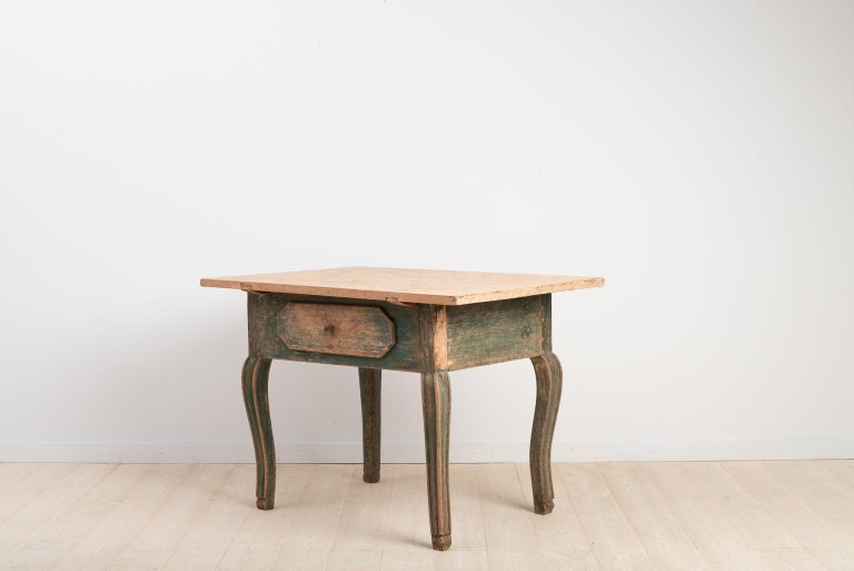 18th Century Swedish Baroque Table For Sale 2