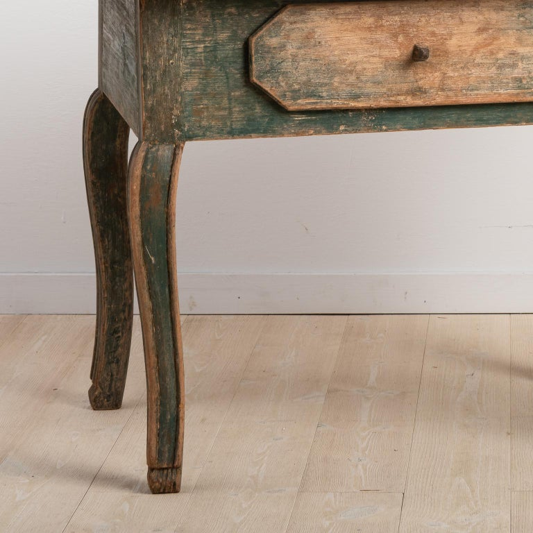 18th Century Swedish Baroque Table For Sale 3