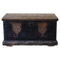 18th Century Swedish Dowry Chest, Dated 1774