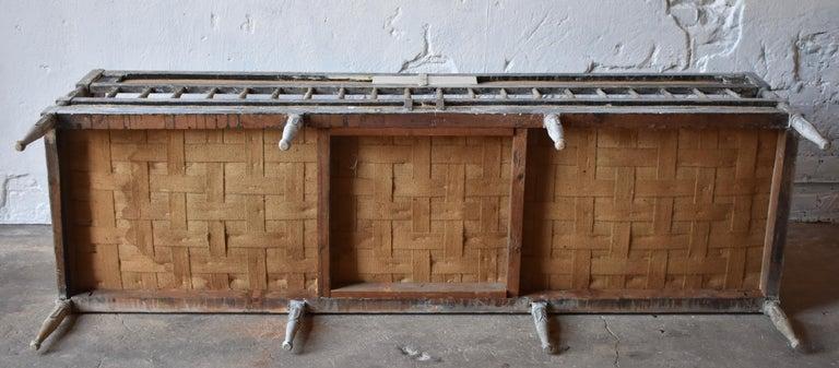 18th Century Swedish Gustavian 8-Legged Sofa For Sale 2