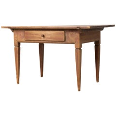 18th Century Swedish Gustavian Country Furniture Table