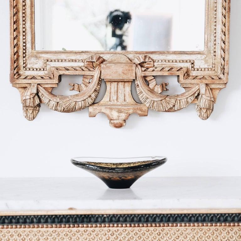 18th Century Swedish Gustavian Giltwood Mirror For Sale 1