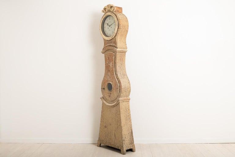 18th Century Swedish Gustavian Long Case Clock For Sale 2
