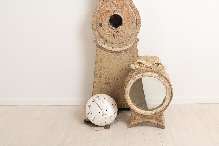 18th Century Swedish Gustavian Long Case Clock For Sale 3