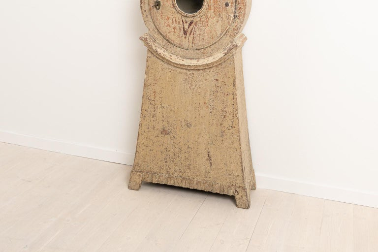 18th Century Swedish Gustavian Long Case Clock For Sale 4