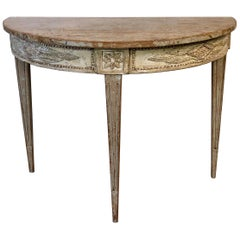 18th Century Swedish Gustavian Period Console