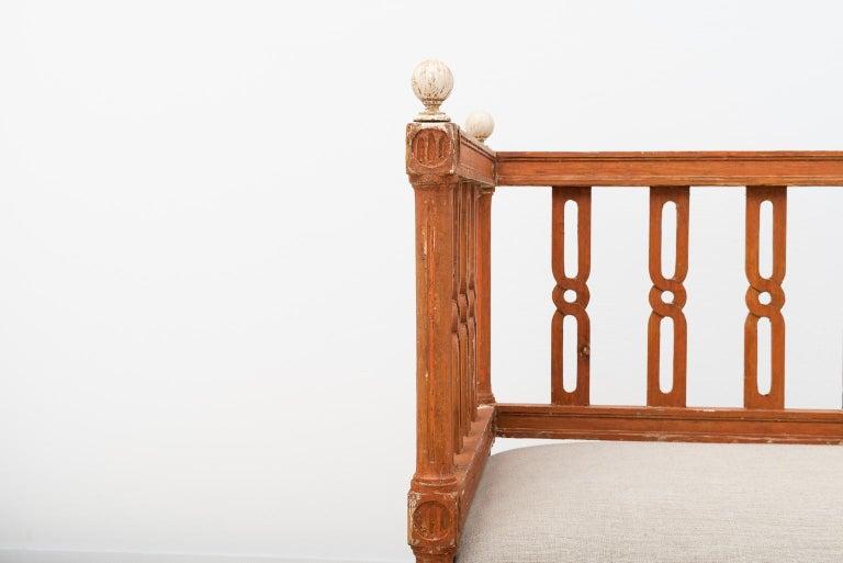 18th Century Swedish Gustavian Sofa For Sale 7