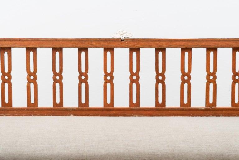 18th Century Swedish Gustavian Sofa For Sale 10