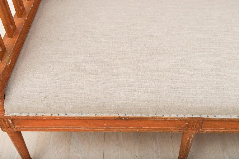 18th Century Swedish Gustavian Sofa For Sale 13