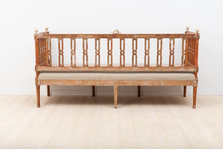 18th Century Swedish Gustavian Sofa For Sale 1