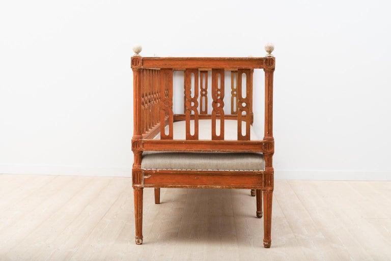 18th Century Swedish Gustavian Sofa For Sale 3