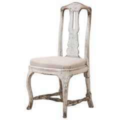 18th Century Swedish Late Baroque Chair