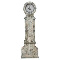 18th Century Swedish Long Case Mora Clock