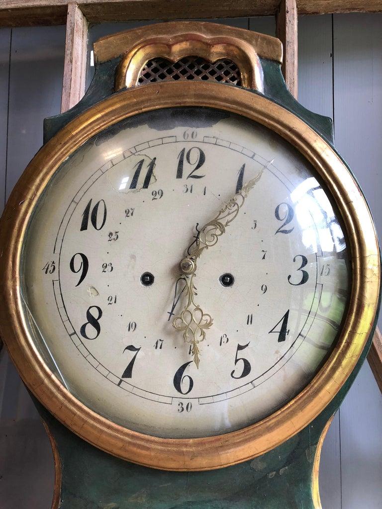 18th Century Swedish Mora Clock For Sale 4