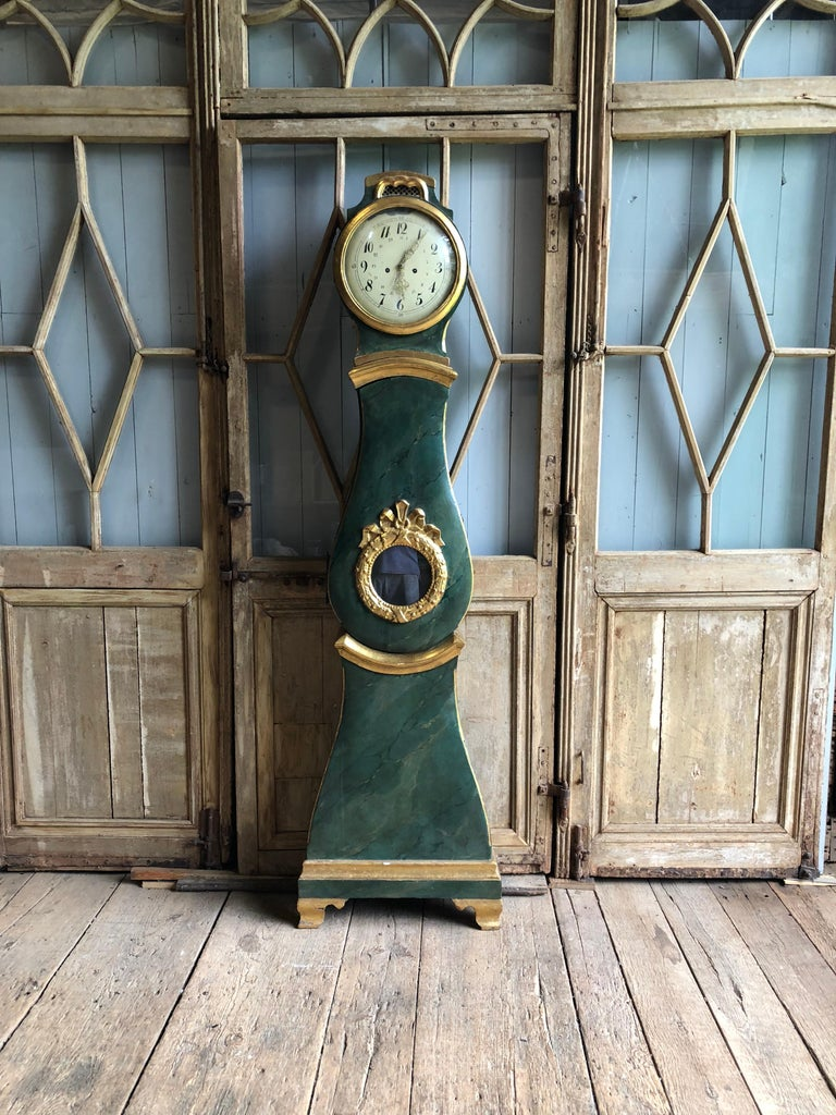18th Century Swedish Mora Clock For Sale 12