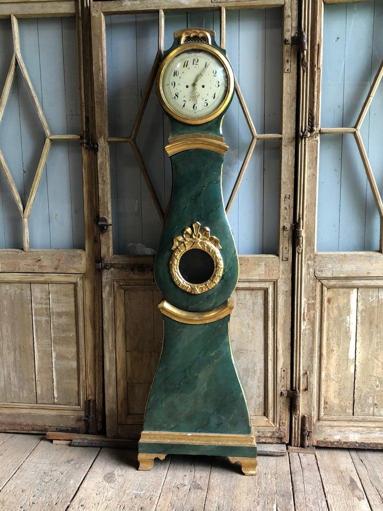 18th Century Swedish Mora Clock For Sale 13