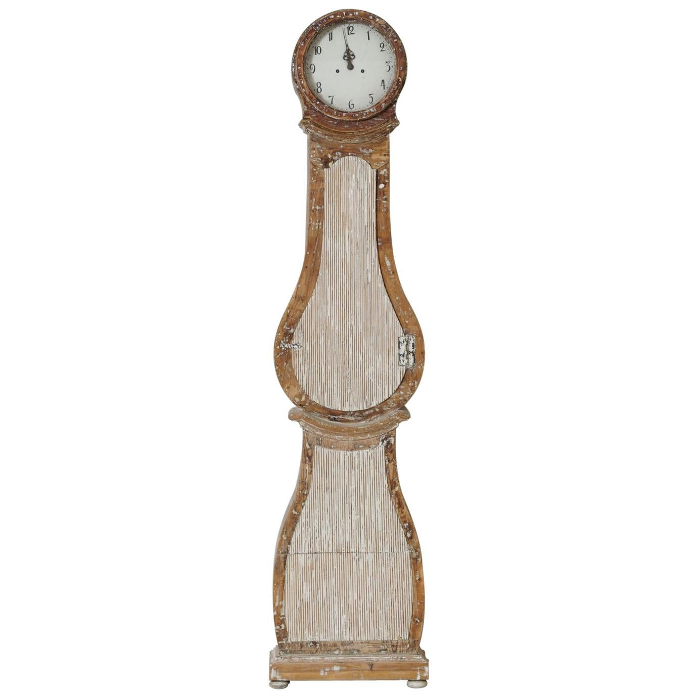 18th Century Swedish Mora Long Case Clock
