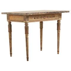 18th Century Swedish Neoclassic Console Table