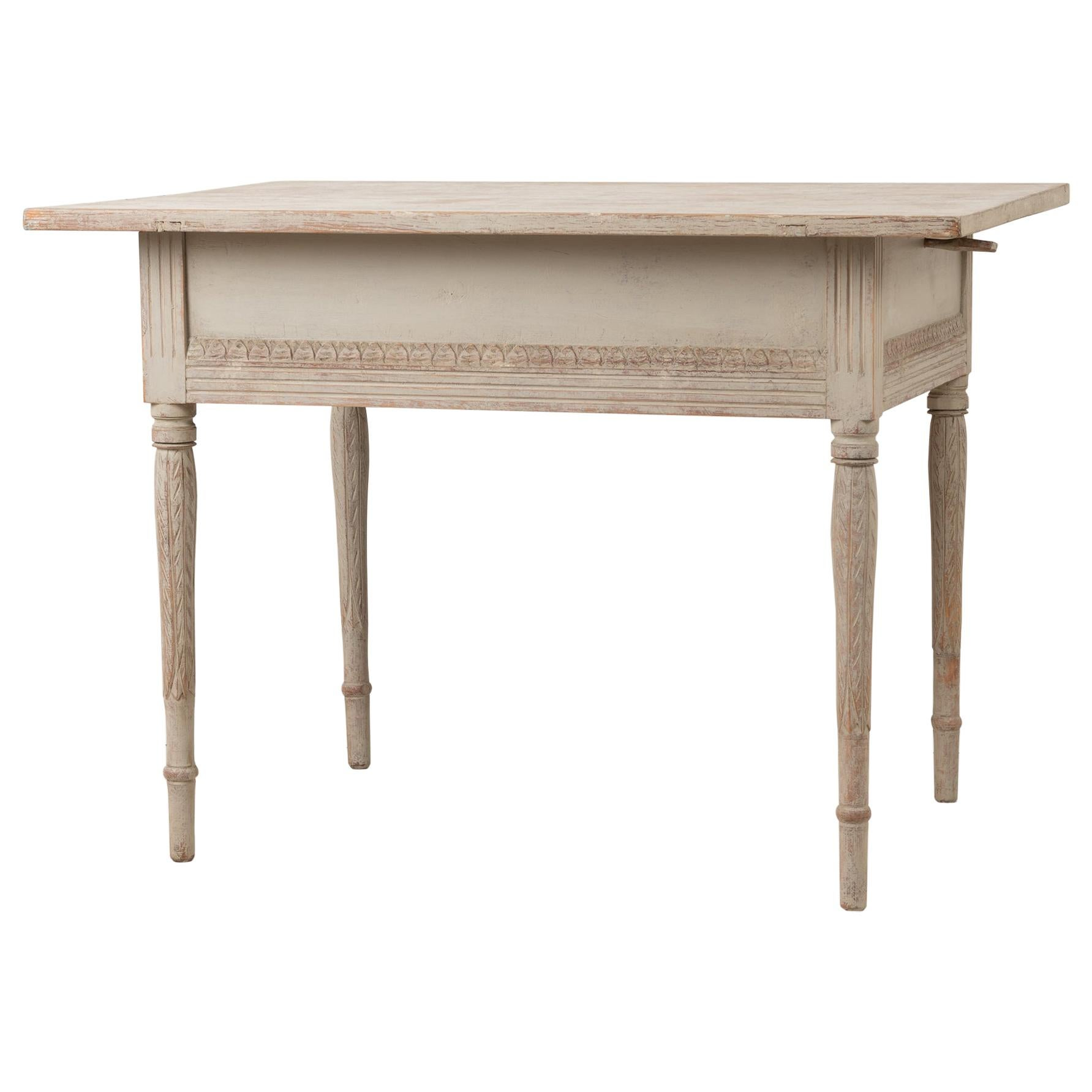 18th Century Swedish Neoclassical Console Table