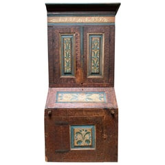 18th Century Swedish Painted Secretary
