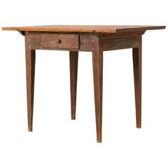 18th Century Swedish Provincial Gustavian Table