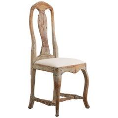 18th Century Swedish Provincial Rococo Chair