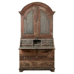 18th Century Swedish Rococo Bureau Cabinet