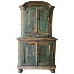 18th Century Swedish Rococo Cabinet
