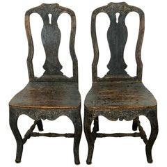 18th Century Swedish Rococo Chair