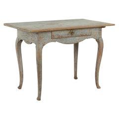 18th Century Swedish Rococo Desk Console