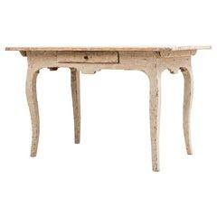 18. Jahrhundert Schwedischer Rokoko Schreibtisch