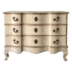 18th Century Swedish Rococo Period Chest