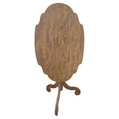 18th Century Swedish Rococo Tilt top Table Original Paint