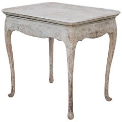 18th Century Swedish Rococo Tray Table