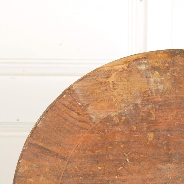 18th Century and Earlier 18th Century Swedish Tilt-Top Table For Sale