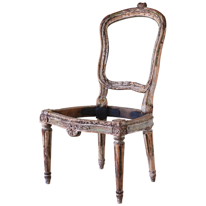 18th Century Swedish Transitional Chair